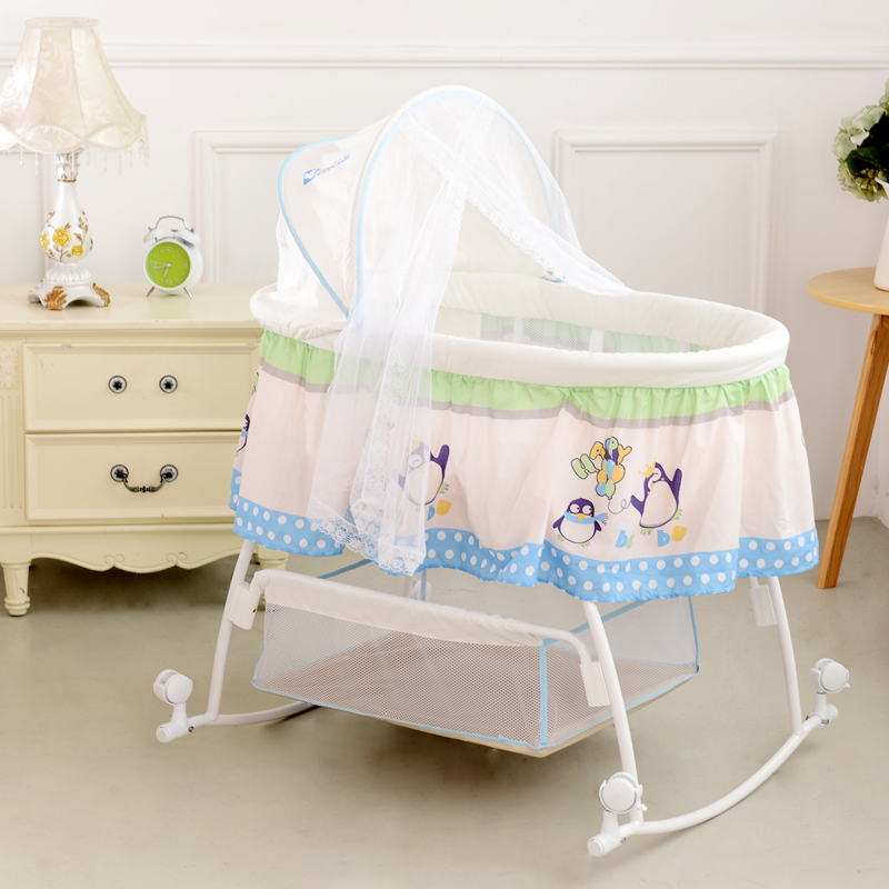how to make automatic baby cradle