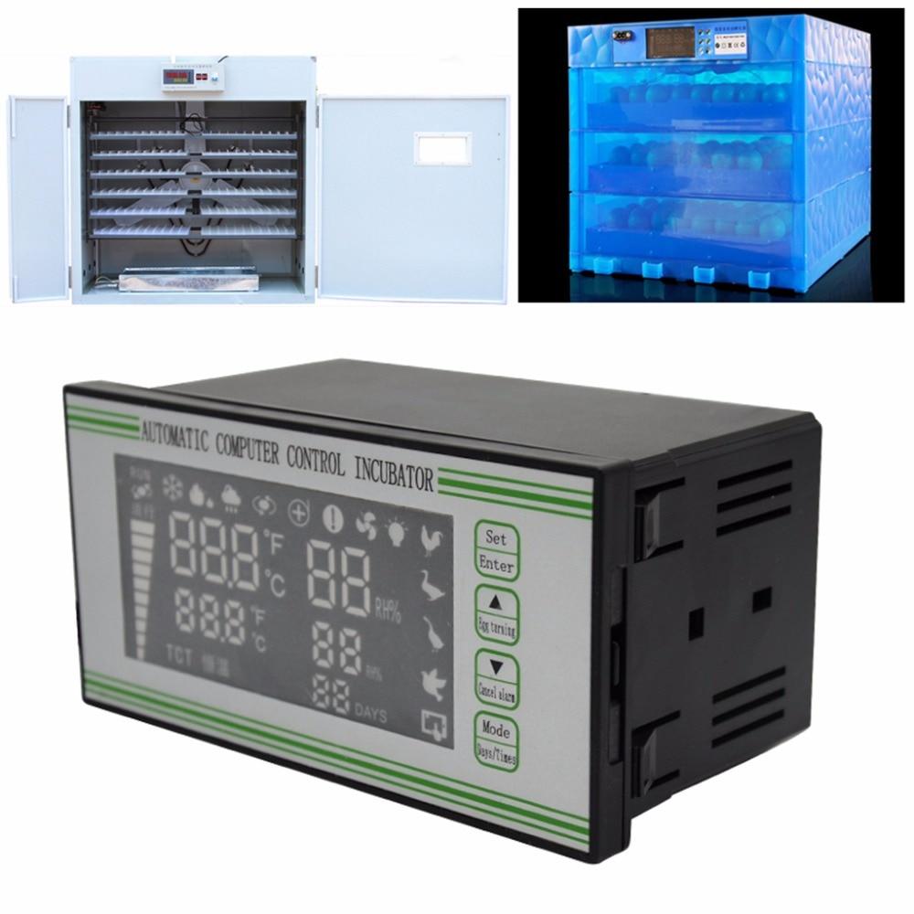 Contrôleur d'incubateur Intelligent volaille poulet canard ferme Aniaml Thermostat multifonctionnel oeuf incubateur système de contrôle C42