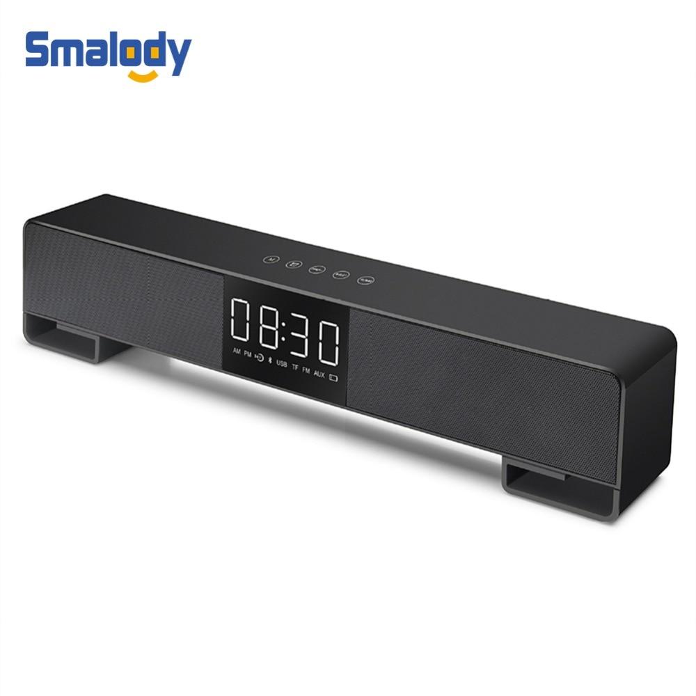 Smalody Wireless Bluetooth Speaker Soundbar TV 10W