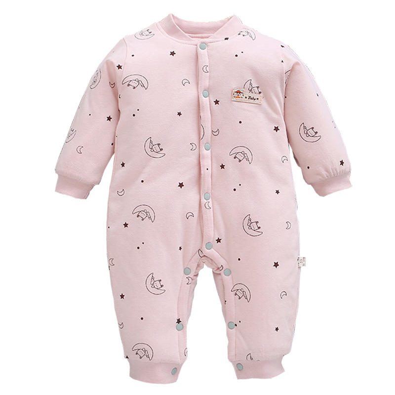 2019 Fashion New Born Baby Girls Clothes Autumn Winter Baby Boys   Romper   Coveralls Children Infant Clothing Kids Costume Jumpsuit