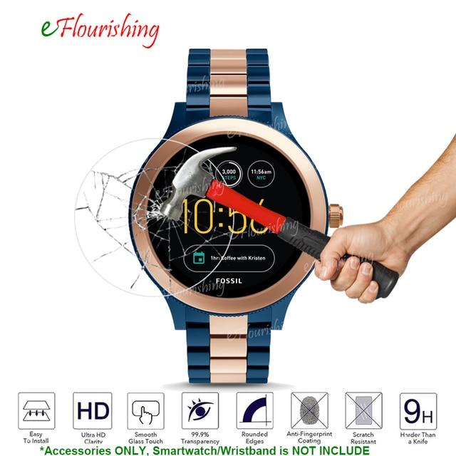 9c9c27fa017 Para um Crescimento Inteligente Relógio Fóssil Gen 3 Smartwatch-Q Venture  Tampa de Vidro Temperado