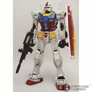 Image 2 - OHS Bandai RG 01 1/144 RX 78 2 Gundam EFSF Close Combat Mobile Suit Assembly Model Building Kits oh