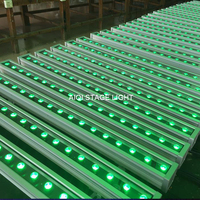 10 lot orientalne lampa ścienna 36x3 w mycia tri kolor pasek świetlny led rgb dmx oprawa światła na zewnątrz wallwasher zewnętrzne kinkiety w Oświetlenie sceniczne od Lampy i oświetlenie na