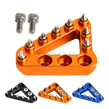 New Hammerhead Large CNC Rear Brake Pedal Step Plate Tip For KTM SX EXC XC XCW