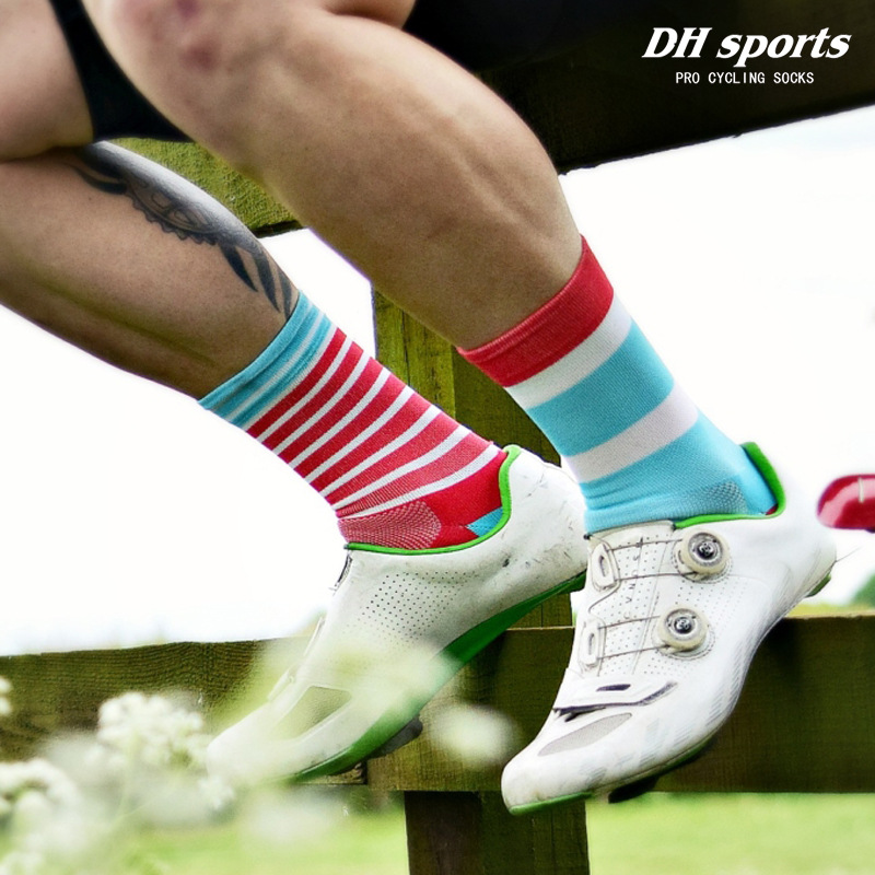 High Quality Professional Cycling Socks Comfortabl Road Bicycle Socks Outdoor Racing Bike Compression Socks Calcetines Ciclismo