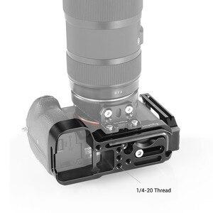 Image 4 - SmallRig A73 LสำหรับSony A7M3 A7R3 L BracketสำหรับSony A7III / A7RIII / A9 คุณลักษณะQUICK RELEASEแผ่นสไตล์ARCA 2122