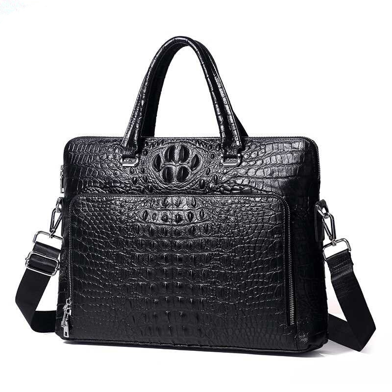 Special Offer! High Grade Alligator Pattern Genuine Leather Handbags Classic Cowhide Business Men Briefcase Special Offer! High Grade Alligator Pattern Genuine Leather Handbags Classic Cowhide Business Men Briefcase