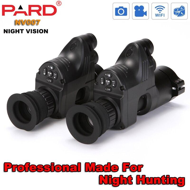 PARD NV007 infrarouge IR dispositif extérieur Vision nocturne chasse nocturne portée 1080 P HD Wifi caméra Vision nocturne monoculaire bonne qualité
