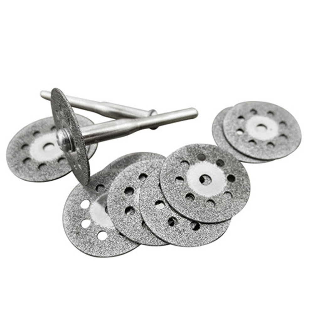 high quality 1 set Rotary Tool Circular Saw Blades Cutting Wheel Discs Mandrel Dremel Saw Blade Cutting Tools blades cutting machine blade tape double sided adhesive circular knife cutting blade