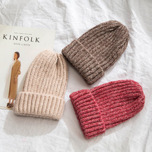 2918 New Design Beanies Hats Cap Women Knitted Mohair Cap Solid Color Men Casual Unisex Hip-Hop Skullies Beanie Winter Warm Hat недорго, оригинальная цена