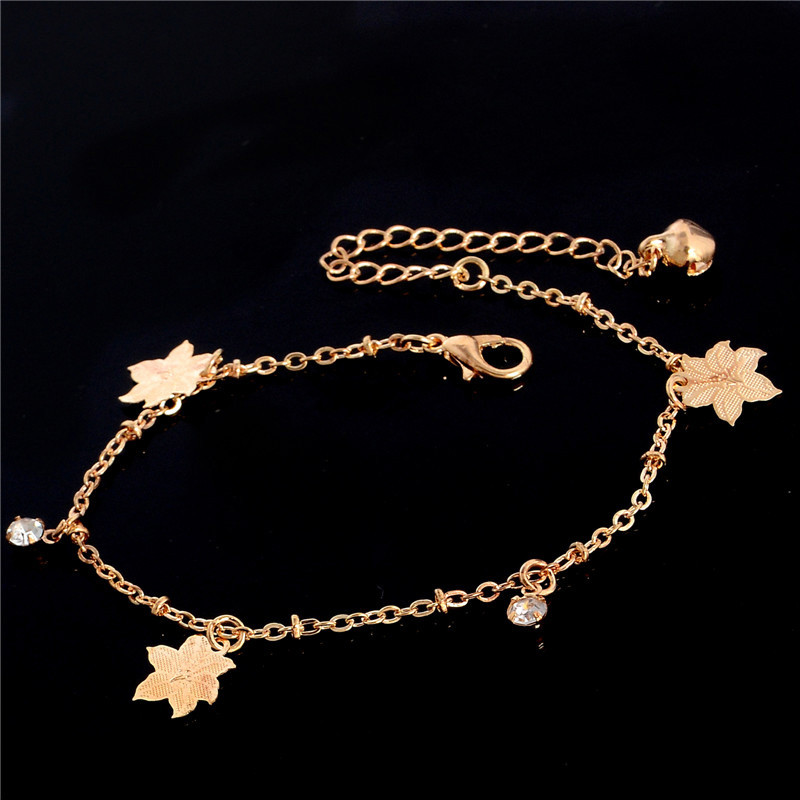 HTB1acBpLpXXXXXkapXXq6xXFXXXM Golden Foot Chain Jewelry Spirituality Ankle Bracelet For Women - 5 Styles