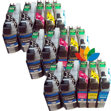 15x LC223 LC221 Ink Cartridge for Brother LC-223 DCP-4120DW MFC-J4625DW MFC-J5320DW MFC-J5620DW MFC-J480DW MFC-J680DW Printer 1set full ink for brother lc221 lc 221 231xl ink cartridge for brother dcp j562dw mfc j480dw mfc j680dw mfc j880dw