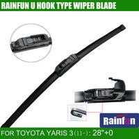RAINFUN JH001 28 0 Dedicated Car Wiper Blade For TOYOTA YARIS 3 11 2pcs A Lot