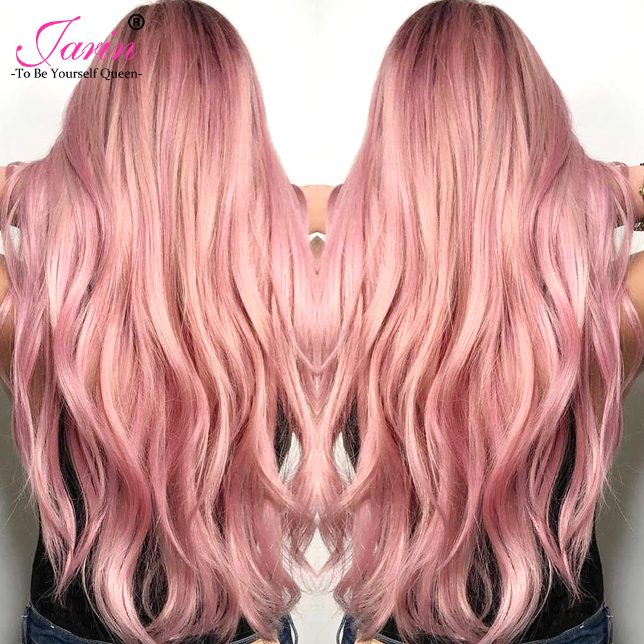 Jarin Ombre Rose Gold Color Malaysian Body Wave Human Hair