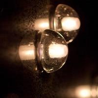 Amerikan kısa sihirli topu kristal duvar lambası led 3 w meteor duş merdiven lambası koridor yatak odası geçit otel mühendisliği fikstür