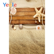 Yeele Seaside Beach Shell View Professional Child Photography Portrait Backdrops Wood Photographic Backgrounds For Photo Studio цена и фото