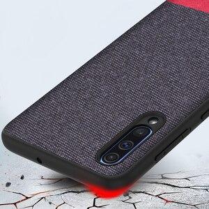 Image 2 - Keysion 電話ケース A50 A30 A70 高級色スプライス pu レザー布 tpu 黒サムスンギャラクシー s10 プラス