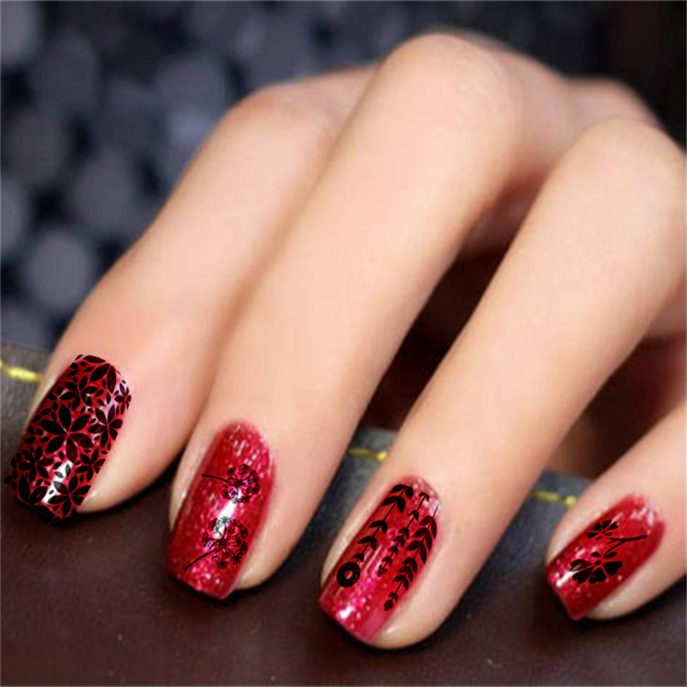 New Nail Art Stamp Template Image Polish Stamping Plates Manicure ...