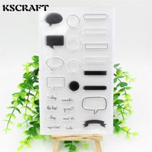 Projects Clear Silicone Rubber Stamp for DIY scrapbooking/photo album Decorative craft