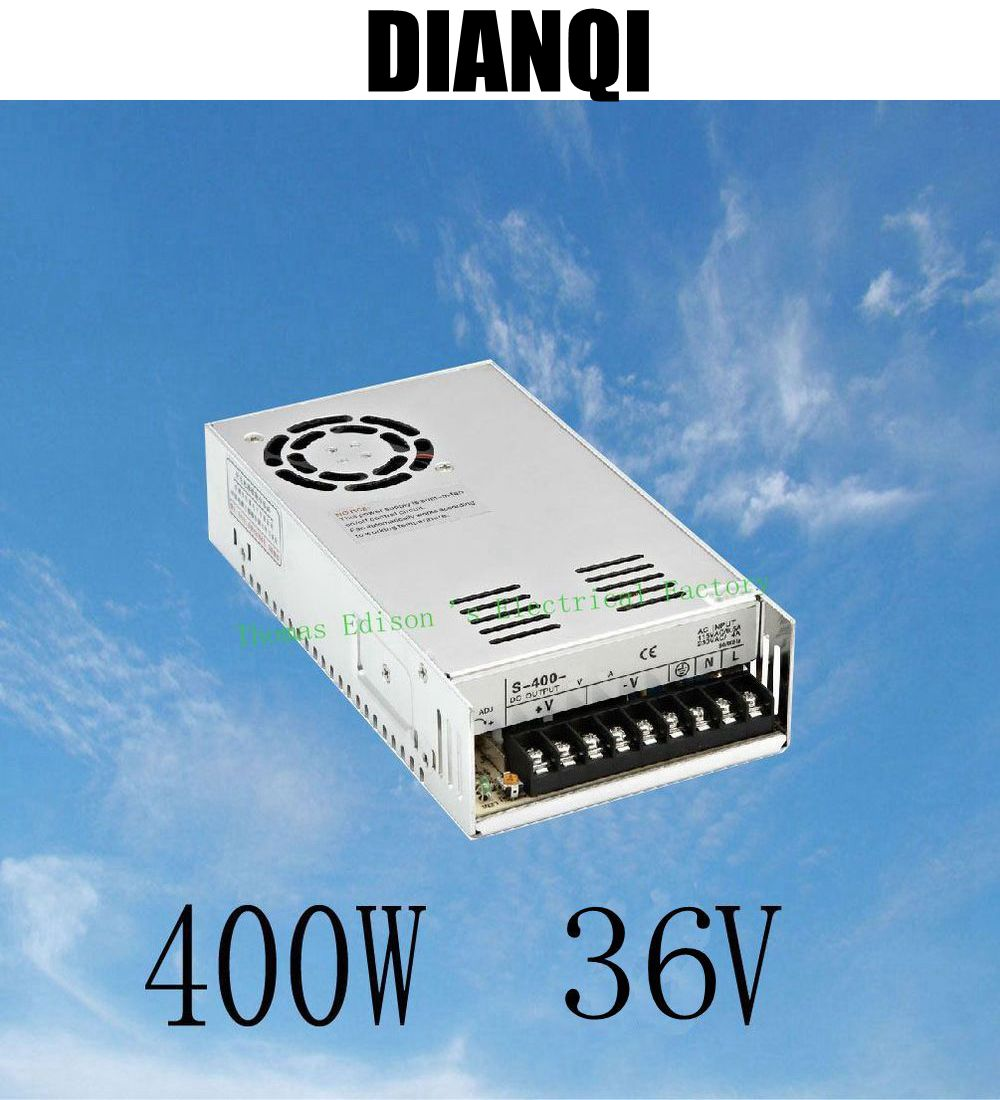 400W 36V 11A Single Output Switching power supply for CCTV camera LED Strip light AC to DC SMPS 400w 36v 11a single output switching power supply for cctv camera led strip light ac to dc smps