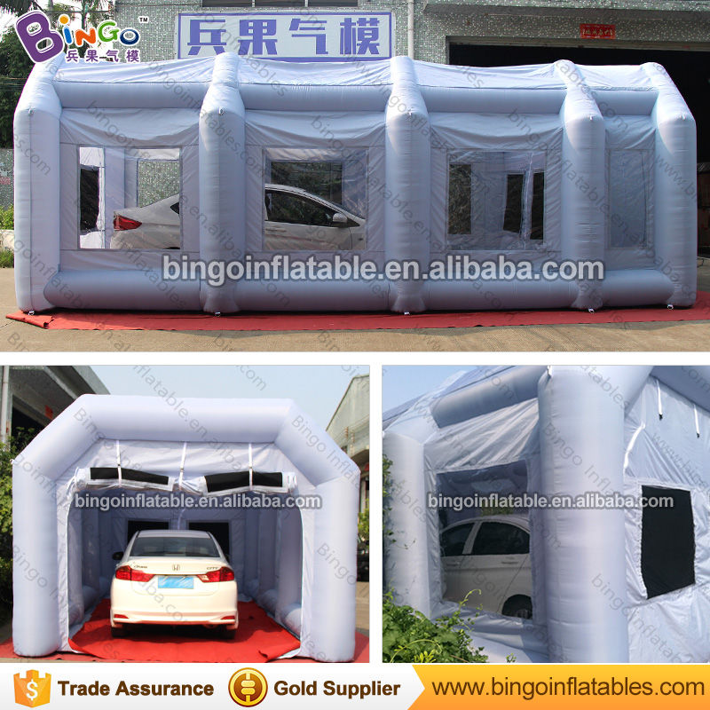 все цены на Spray booth type  8*4*3M car used mobile paint booth cheap retractable spray painting booth cabin with filter system N free fan онлайн
