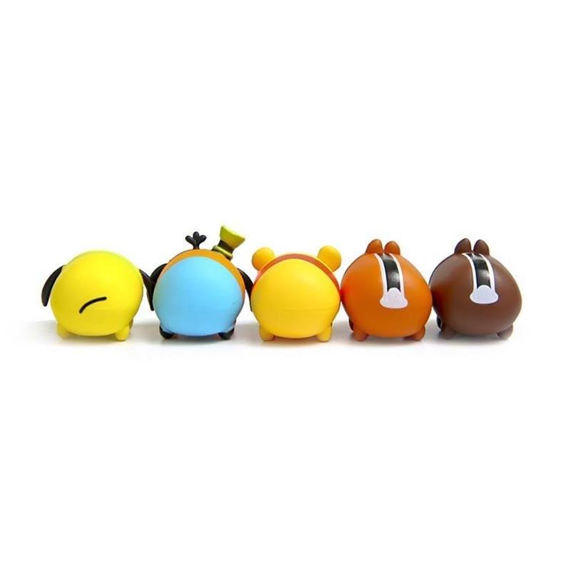 10Pcs / lot 3.8CM Tsum Tsum Дональд Микки Винни - Қуыршақтар мен керек-жарақтар - фото 6