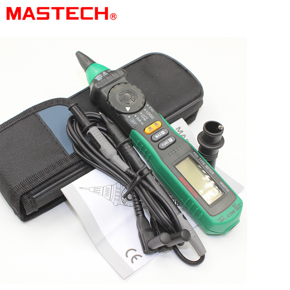 Mastech MS8211D Pero typu Digital Multimeter Logic Level Test Auto-range Current Measurement
