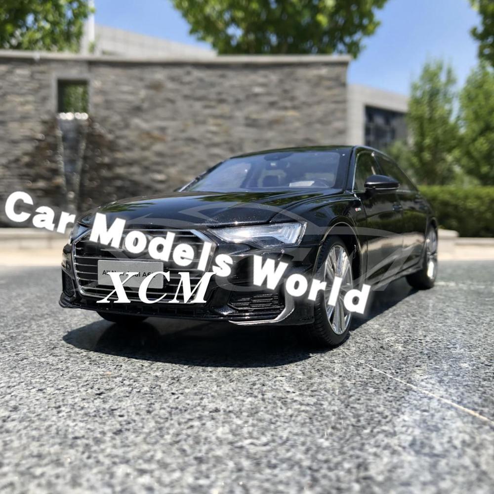 Modèle de voiture moulé sous pression pour tous les nouveaux A6L 2019 1:18 (noir) + petit cadeau!!!!!!!!-in Jouets véhicules from Jeux et loisirs    1