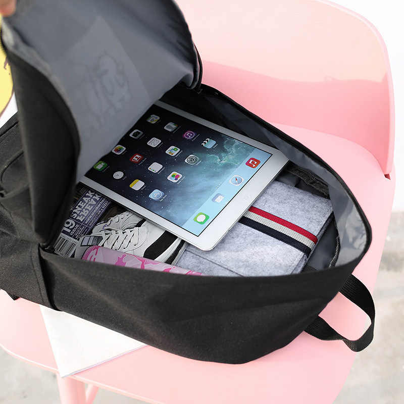 Kajie Модная молодежная Kawaii школьные сумки милый маленький нейлоновый рюкзак женский Школьный для подростков девочек Для женщин Bagpack Bookbag