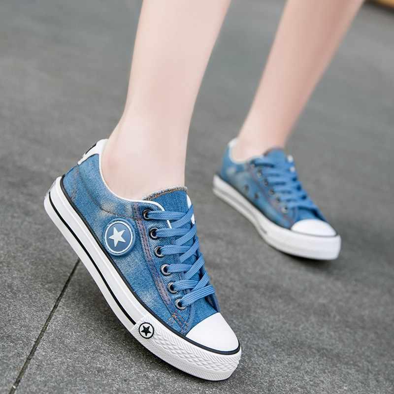 Stylish women's shoe jean casual shoes