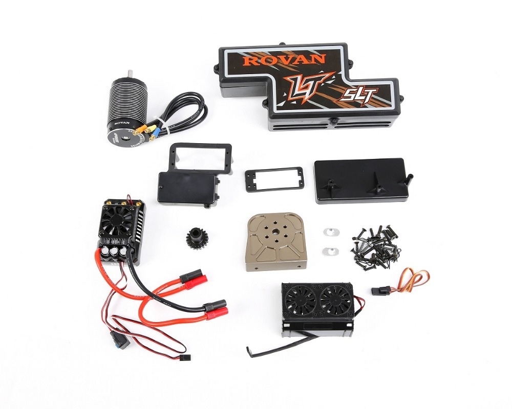 Electric Conversion kit for 1/5 losi 5ive-t rovan lt slt rc car part 870961 area rc avant chassic brace v2 for losi 5ive t