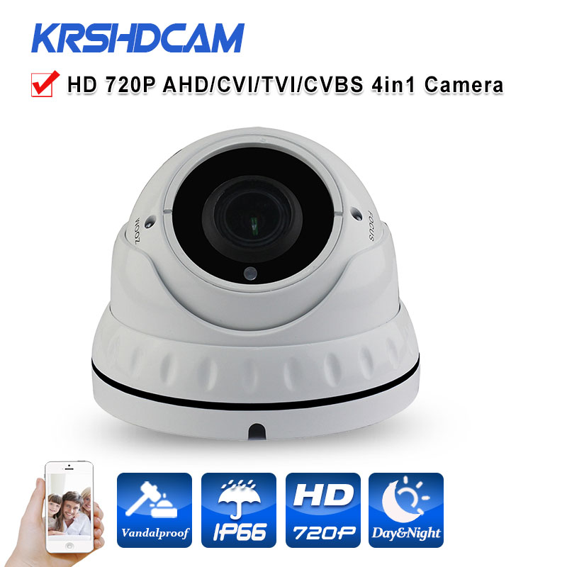 AHD camera room dome 1.0mp 720P HD analog AHD-M indoor vandalproof 36IR HD Lens IR-CUT Night Vision security cctv cameras free shipping hot selling 720p 20m ir range plastic ir dome hd ahd camera wholesale and retail