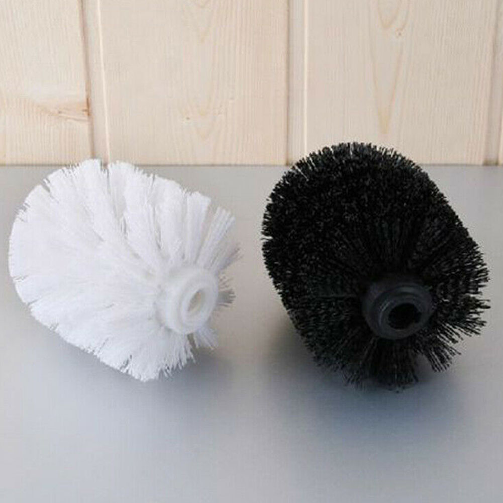 2Pcs Hotel Durable Plastic Toilet Brush Home WC Parts Accessory Kitchen Cleaning Tool Replacement Spare Universal Holder