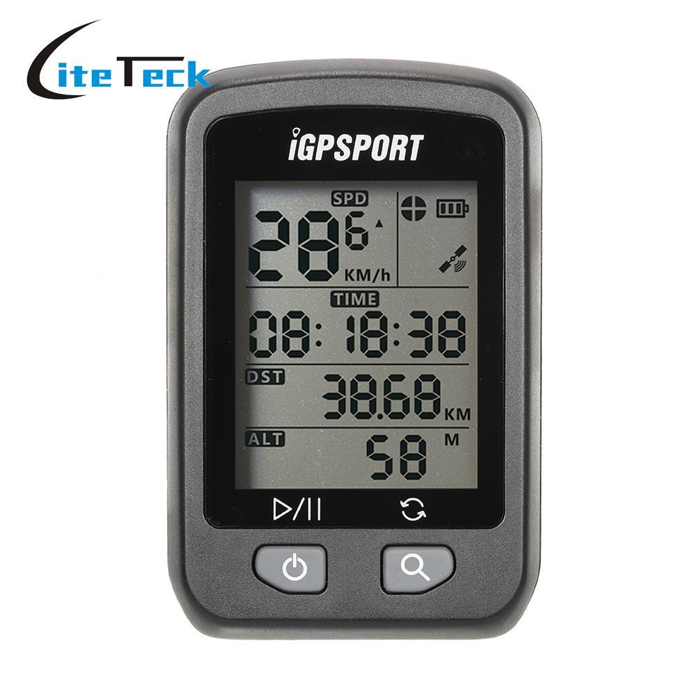 IGPSPORT Rechargeable IPX6 étanche Auto rétro-éclairage écran vélo Cycle vélo GPS ordinateur odomètre avec support