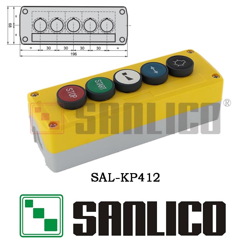 SAL(XAL)-KP412 push button switch with logo  цена и фото