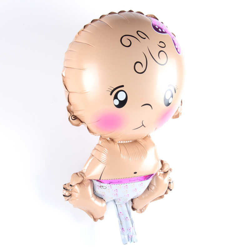 1 шт. мини-шар для маленьких мальчиков и девочек с рисунком ручной работы, воздушные шары из фольги, Детские вечерние декоративные шары на день рождения, игрушки для вечеринки перед рождением ребенка, поставка