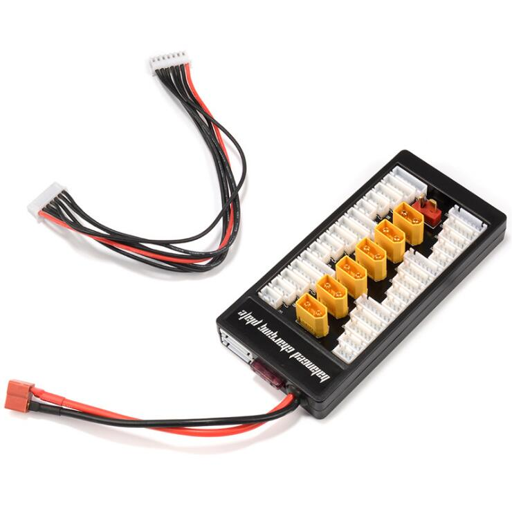 Multi 2S-6S Lipo Parallel Charging Board Balance XT60 Plug For RC Battery Charger B6AC A6 720i Lithium Batteries Charger Part 5pcs ab clip ab battery balance plug for 2s 3s 4s 5s 6s lipo battery balance plug connector protector