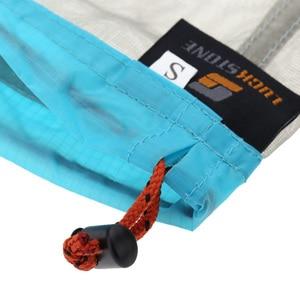 Image 4 - Сверхлегкий сетчатый мешок для хранения вещей на шнурке, чехол для наушников, кейс для тавиллинга, кемпинга, спорта, Большой/средний/маленький размер