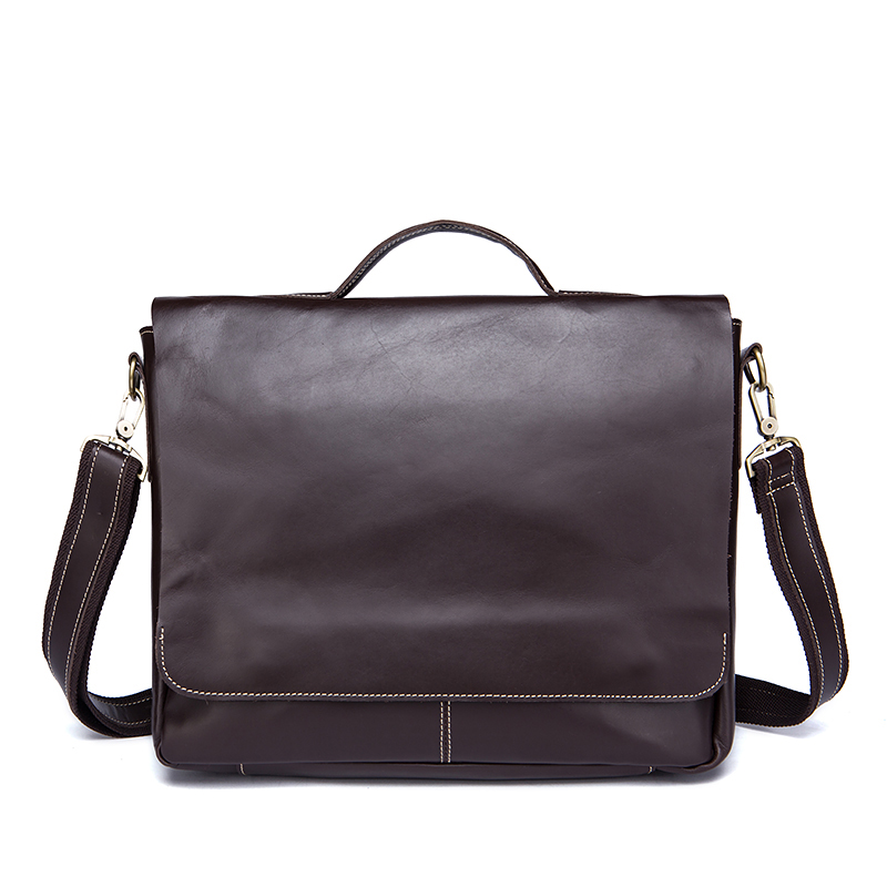 fe255b352936 Men Bags Genuine Leather Shoulder Handbag Bag Laptop Handle-top Mens  Briefcase Male Messenger For Crossbody