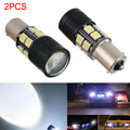 Brand New 2 X Canbus 1156 BA15S P21W LED Car Tail Backup Reverse Light Bulb 360 Degree 600LM Super White 6000K Lamps
