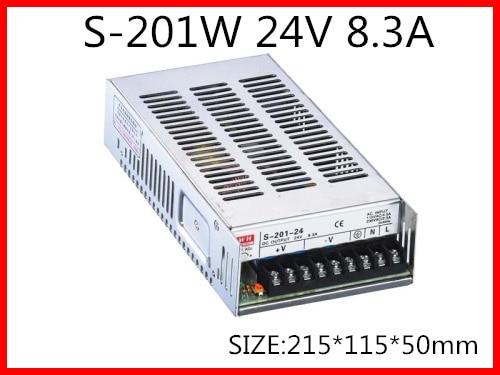 201W 24V 8.3A  Single Output Switching power supply for LED Strip light  AC-DC 1200w 48v adjustable 220v input single output switching power supply for led strip light ac to dc