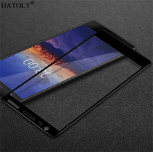 2pcs Glass For Nokia 3.1 Tempered Screen Protector Full Cover 3 2018 Film HATOLY