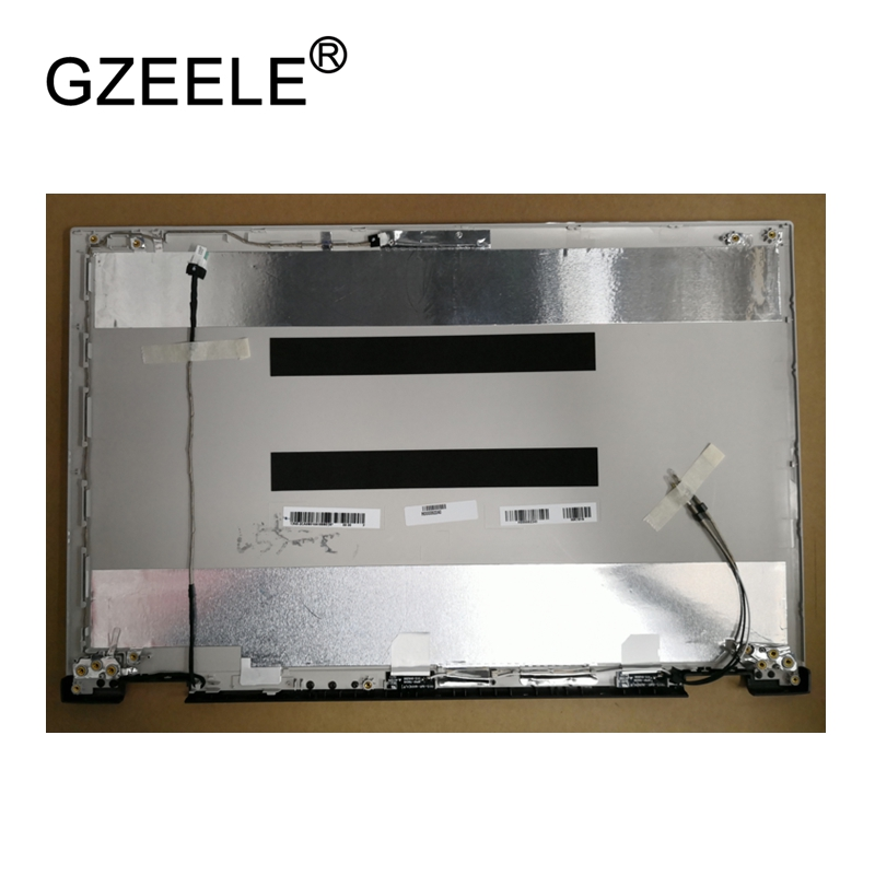 GZEELE New LCD top case Rear Display cover Assembly For Toshiba Satellite L50W L55W-C L55W-C5257 back cover back shell SILVER gzeele new for dell precision 17 7710 7720 m7710 m7720 top cover a case switchable lcd back cover n4fg4 0n4fg4 lcd rear lid case