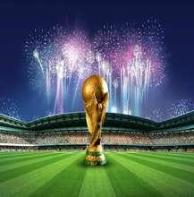 Copa Mundial de fútbol deportes campo fondos paño de vinilo de alta calidad ordenador impreso foto telón de fondo