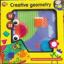 Развивающие игрушки головоломки для детей Мозаика Пуговицы Creative Geometry, 3д пазлы ,крутые игрушки играть с ребенком хит продаж 2018 ,новогодний подарок для малыш, творчество для детей ,доставка из России от 2 дня