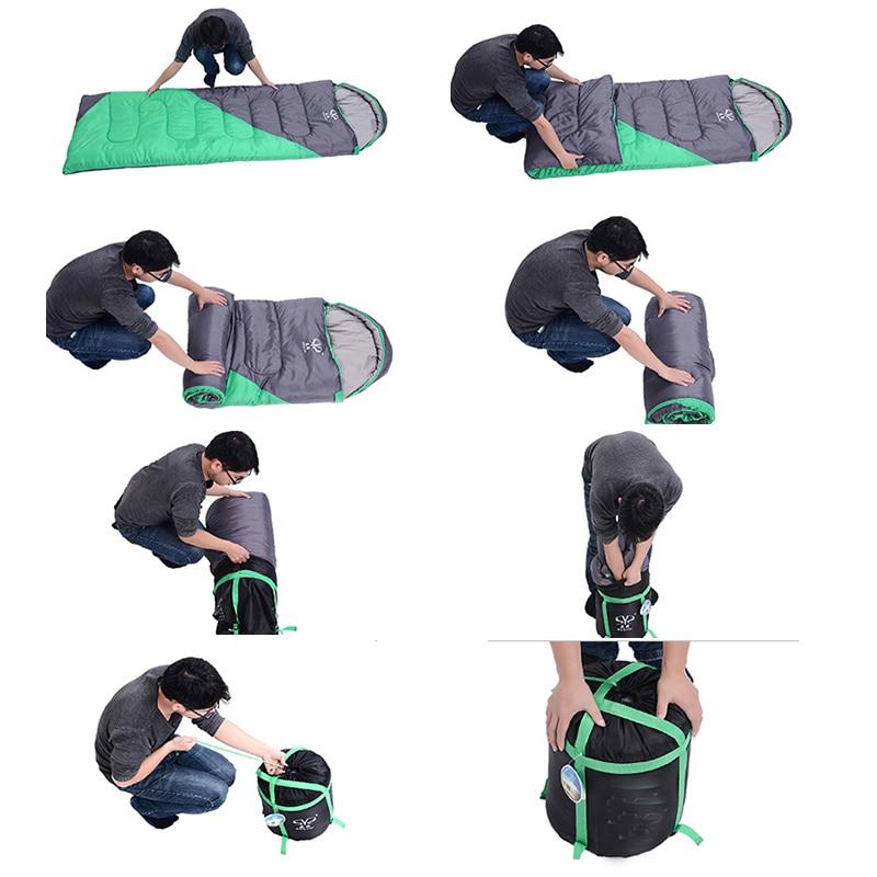 1600g Waterproof Camping Sleeping Bag For Accesorios Playa Splicing Double Sleeping Bags Ultralight Outdoor Camping Sleep Bag  5