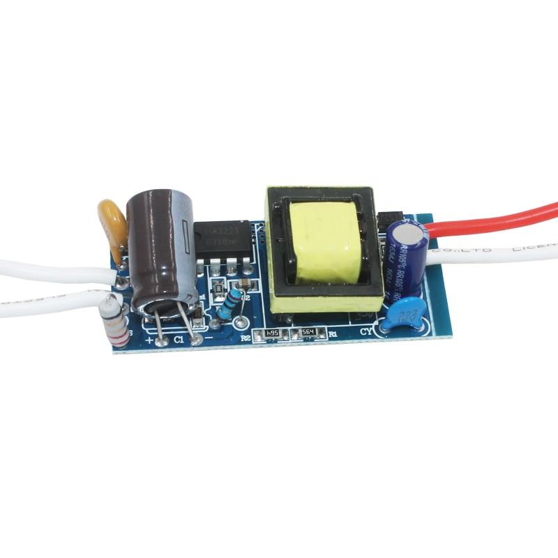 12-18W LED Driver Light Transformer Power Supply Adapter AC90-265V DC42-63V Constant Current 280-300mA for Led Light