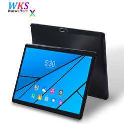 2018 Global 10 inch 3G/4G LET Phone tablet pc Android 7.0 10 core 4GB RAM 64GB ROM 1920*1200 IPS WIFI Smart tablets pcs 10 10.1