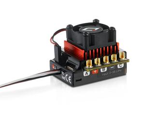 Image 2 - Оригинальный HOBBYWING QUICRUN 10BL120 Sensored 120A 2 3 S Lipo регулятор скорости бесщеточный ESC для 1/10 1/12 RC автомобиля