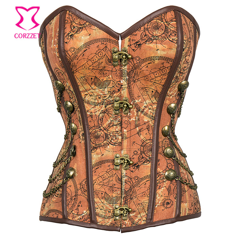 Aliexpress.com : Buy Vintage Patterns Overbust Bustier ...